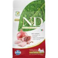 N&D táp kutyáknak Csirke-Gránátalma Adult Meidum 2,5kg