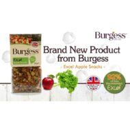 Burgess almás bio snack nyulak és rágcsálók részére 80g