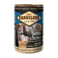 CarniLove Dog Adult Konzerv Salmon & Turkey
