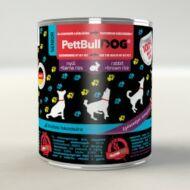 PettBullDog Senior - Nyúl (800 g) 24 db