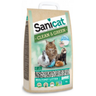 Sanicat Macskaalom Clean & Green Cellulose - cellulóz Macskaalom