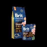 Brit Premium by Nature Small Junior 1 kg | Kutyatáp24
