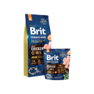 Brit Premium by Nature Medium Junior 3 kg