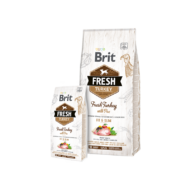 Brit Fresh Turkey with Pea Adult Fit and Slim - 2,5 kg