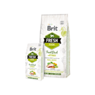 Brit Fresh Duck with Millet Active Run and Work - 2,5 kg