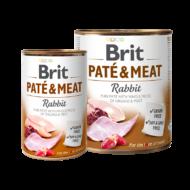 Brit Paté and Meat - Rabbit - 400 g