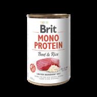 Brit Mono Protein Beef and Rice - 400 g | Kutyatáp24