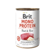 Brit Mono Protein Beef and Rice - 6x400 g