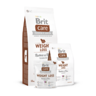 Brit Care Weight Loss Rabbit and Rice - 1 kg | Kutyatáp24