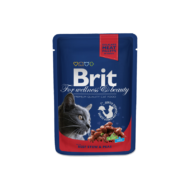 Brit Premium Cat With Beef and Peas 100 g