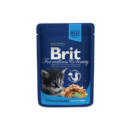 Brit Premium Cat Chicken Chunks for Kitten 100 g