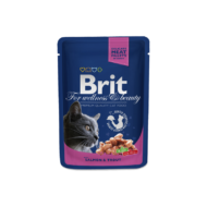 Brit Premium Cat With Salmon and Trout 100 g