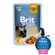 Brit Premium Cat Fillets in Gravy with Tuna 85 g