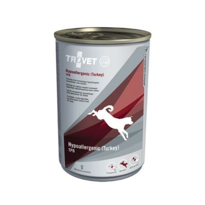 Trovet Dog Hypoallergenic konzerv pulyka 400g