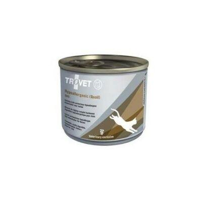 Trovet Cat Hypoallergenic konzerv fürj 200g