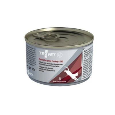 Trovet Cat Hypoallergenic konzerv pulyka 85g