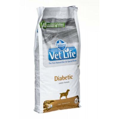 Vet Life Natural Diet Dog Diabetic 2kg