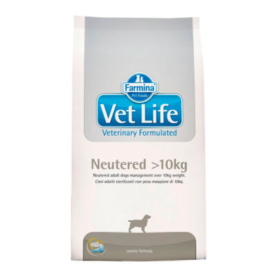 Vet Life Natural Diet Dog  Neutered >10kg 12kg