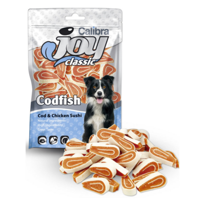 Calibra Joy Dog Classic Cod & Chicken Sushi - Klasszikus kutya jutalomfalat