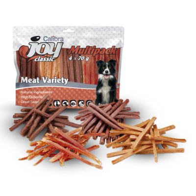 Calibra Joy Dog Multipack Meat Variety Mix - Multipack kutya jutalomfalat
