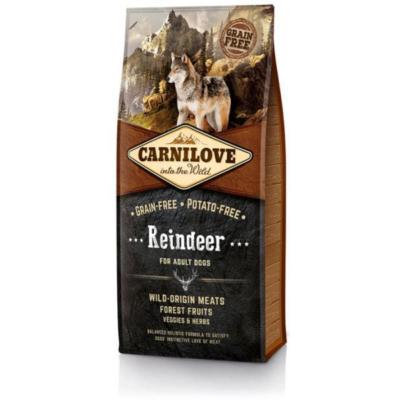 CarniLove Dog Reindeer - száraz kutyatáp * felnőtt kutya számára Rénszarvas hússal