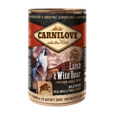 CarniLove Dog Adult Konzerv Lamb & Wild Boar - konzerv kutyatáp * felnőtt kutya számára Bárány-Vaddisznó hússal