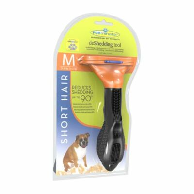 Furminátor aljszőrkefe rövid szőrű kutyáknak M-es