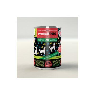 PettBullDog Adult - Vaddisznó (400 g) 24 db