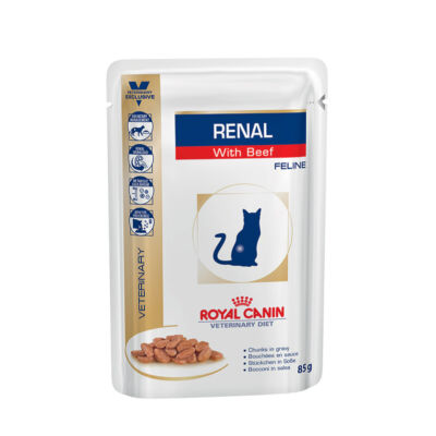 Royal Canin Cat Renal alutasak marha 12x85g