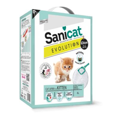 Sanicat Macskaalom Evulotion Kitten - bentonit Macskaalom