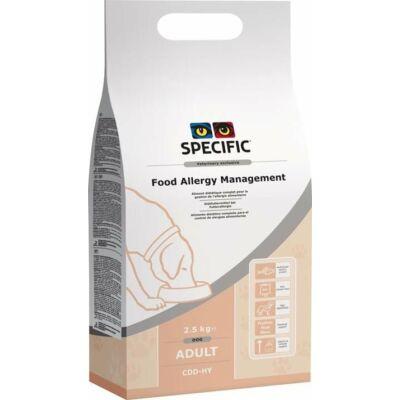 Specific Diétás CDD-HY Food Allergy Management 8kg