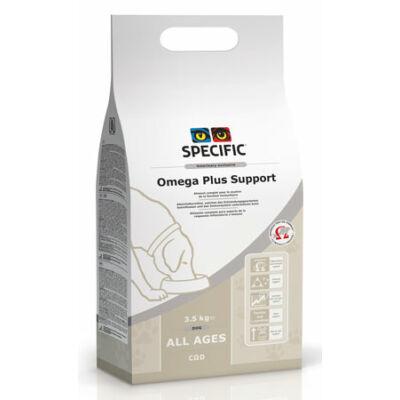 Specific Diétás száraztáp kutyáknak -bőrgyógyászati problémákra-COD Omega Plus Support 3,5kg