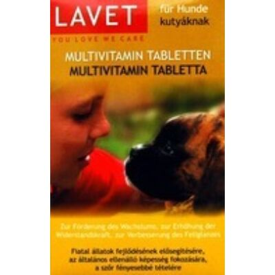 Lavet Multivitamin 50db - Kutyák részére