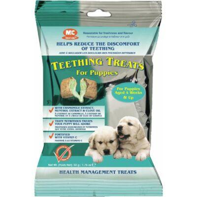 Teething treats puppy