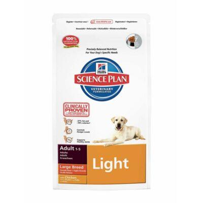 Hills SP Canine Adult Large Breed Light Chicken 12 kg | Kutyatáp24