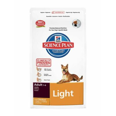 Hills SP Canine Adult Light Chicken 12 kg | Kutyatáp24