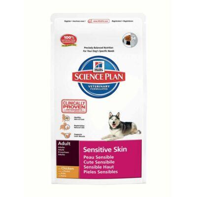 Hills SP Canine Adult Sensitive Skin érzékeny bőr, csirke, 12 kg | Kutyatáp24