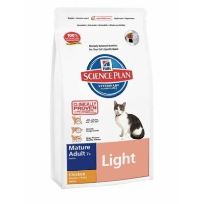 Hills SP Feline Mature Adult Light Chicken 1,5 kg | Kutyatáp24