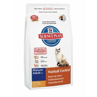 Hills SP Feline Mature Adult Hairball Chicken 1,5 kg   Kutyatáp24
