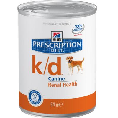 Hills PD Canine k/d vesebetegségek, 0,37 kg, konzerv | Kutyatáp24