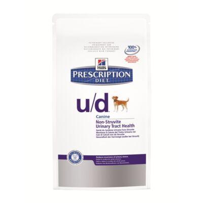 Hills PD Canine u/d urát, oxalát húgykövesség, 12 kg | Kutyatáp24