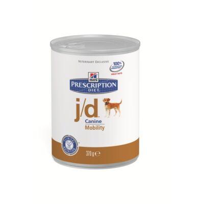 Hills PD Canine j/d izületi megbetegedések, 0,37 kg, konzerv | Kutyatáp24