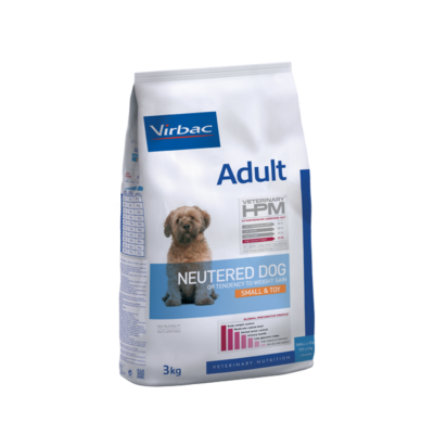 Virbac Adult Neutered Small & Toy dog  (<10kg)