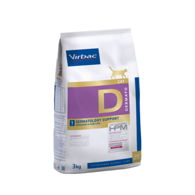 Virbac HPM Diet Cat Dermotology Support