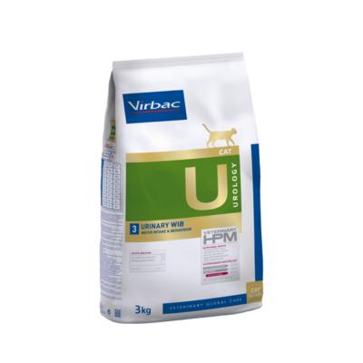 Virbac HPM Diet Cat Urology 3 Urinary WIB