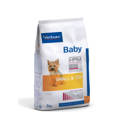 Virbac Small & Toy Baby Dog (<10kg)