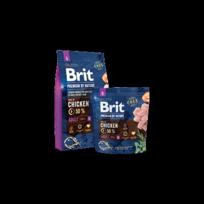Brit Premium by Nature Small Adult 1 kg | Kutyatáp24