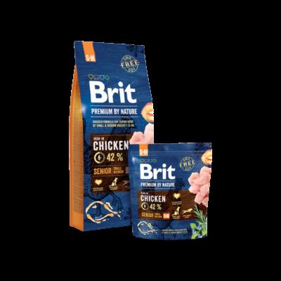 Brit Premium by Nature Small-Medium Senior 1 kg | Kutyatáp24
