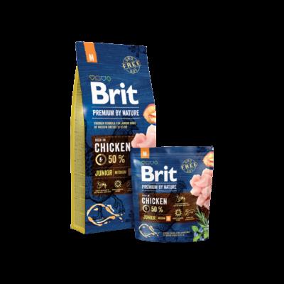 Brit Premium by Nature Medium Junior 3 kg | Kutyatáp24