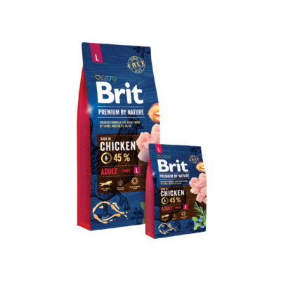 Brit Premium by Nature Large Adult 3 kg | Kutyatáp24